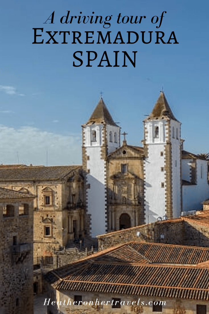 Things to do in Extremadura Spain on a driving tour
