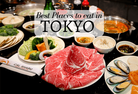 Best places to eat in Tokyo