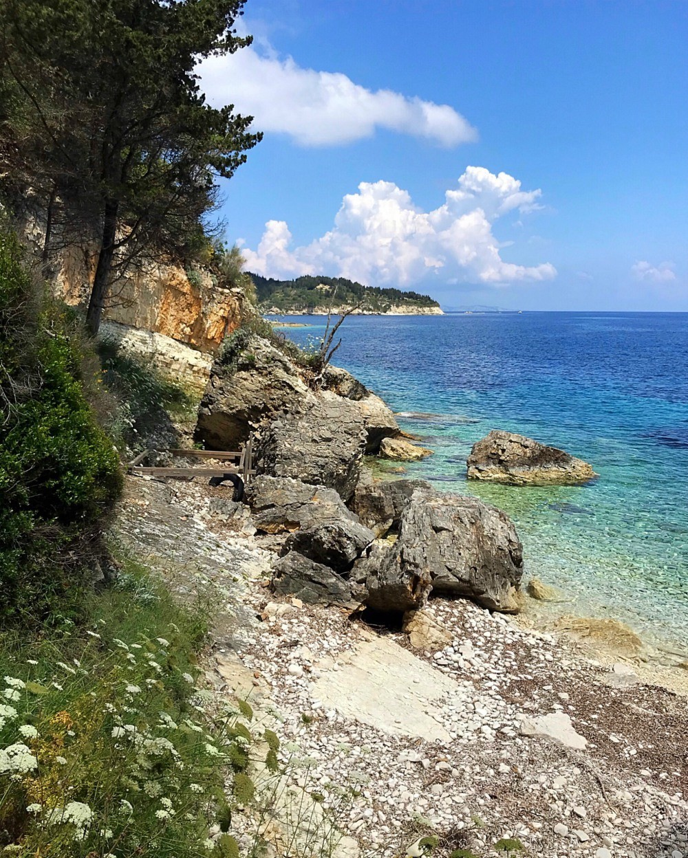 Luxury Paxos Villa Greece - Villa Glaros beach Photo Heatheronhertravels