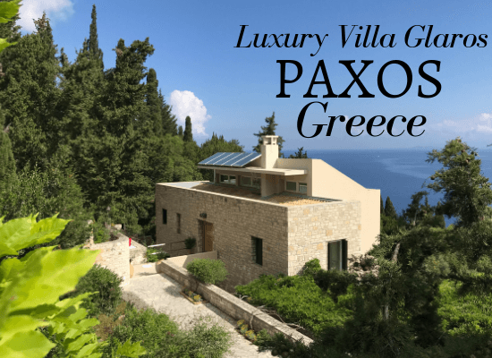 Paxos Luxury Villa - Villa Glaros Greece