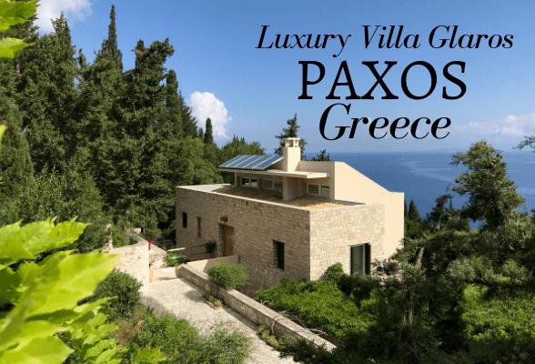 Paxos Luxury Villa - Villa Glaros Greece
