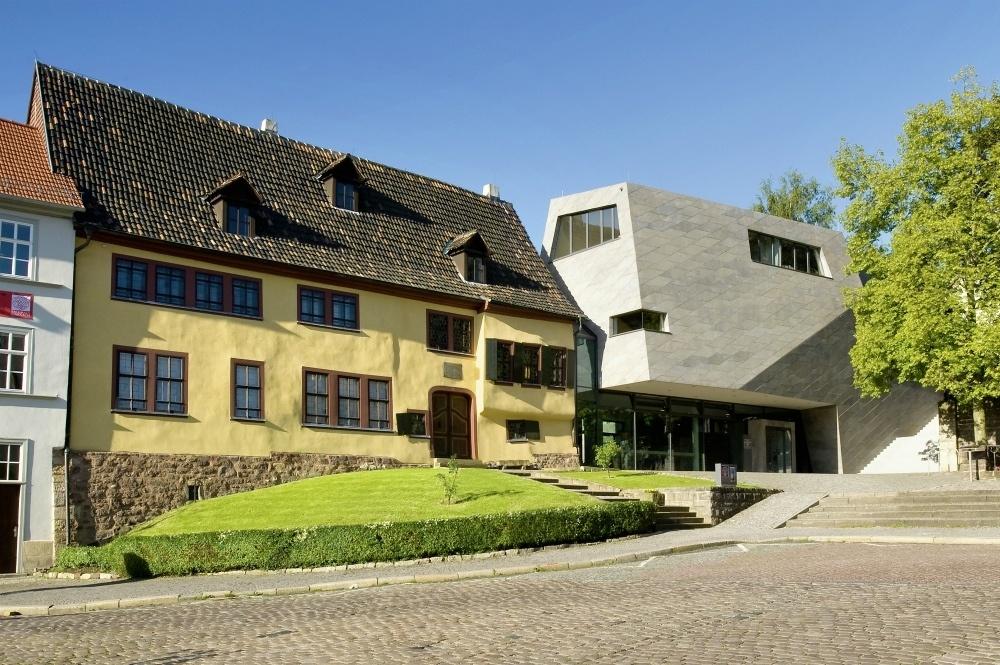 Bachhaus in Eisenach, Thuringia, Germany Photo: Bachhaus Eisenach