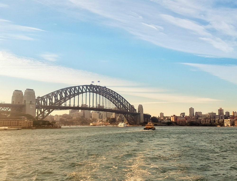 The Sydney Bridge Australia Simon Steinberger Pixabay