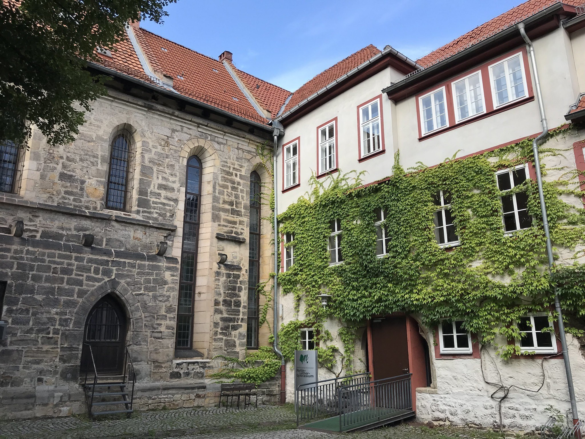 School in Eisenach where Luther studied Photo Heatheronhertravels.com