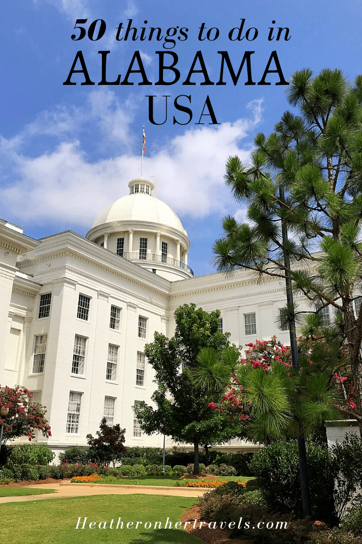 50 things to do in Alabama USA
