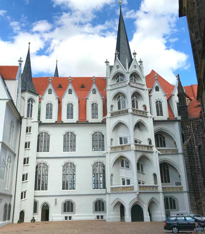 Albrechtsburg Castle in Meissen in Saxony, Germany Photo Heatheronhertravels.com