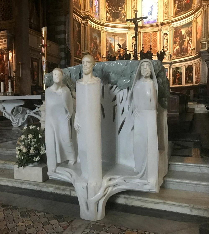 Altar at The Duomo in Pisa