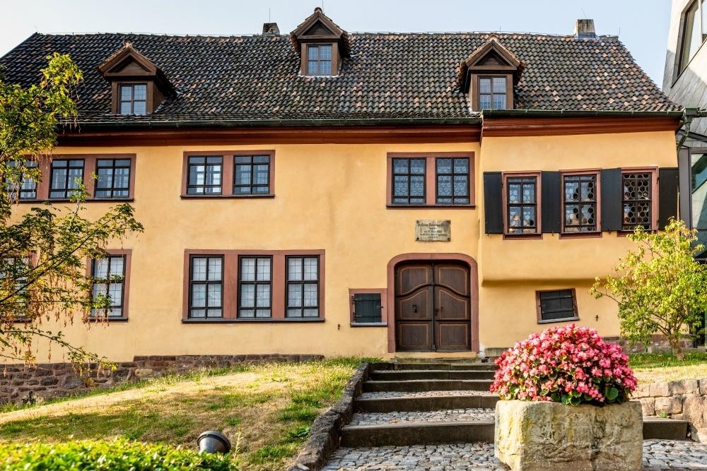 Bachhaus in Eisenach, Thuringia, Germany Photo: Clemens Bauerfeind