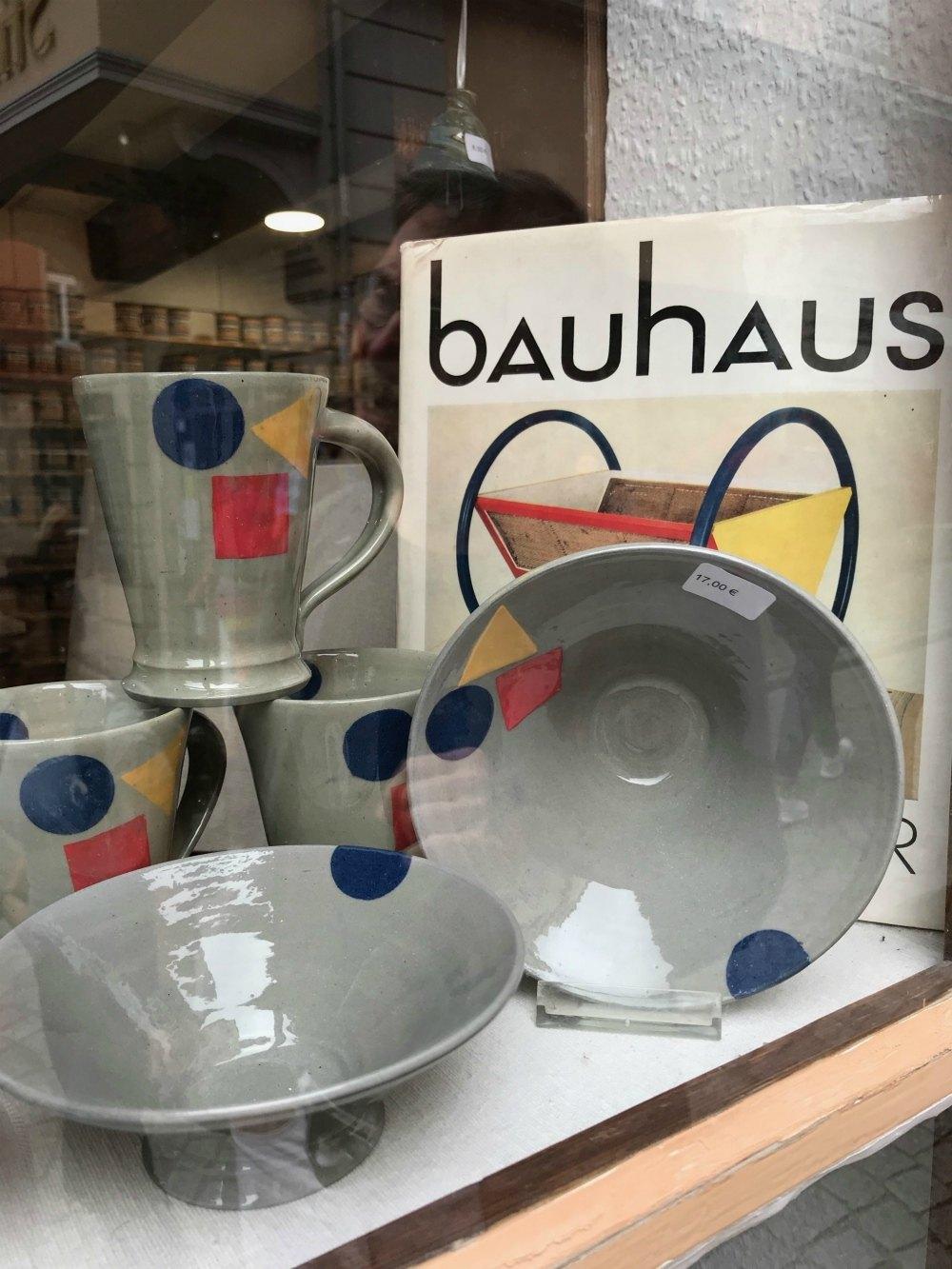 Bauhaus pottery in Erfurt, Thuringia, Germany Photo Heatheronhertravels.com