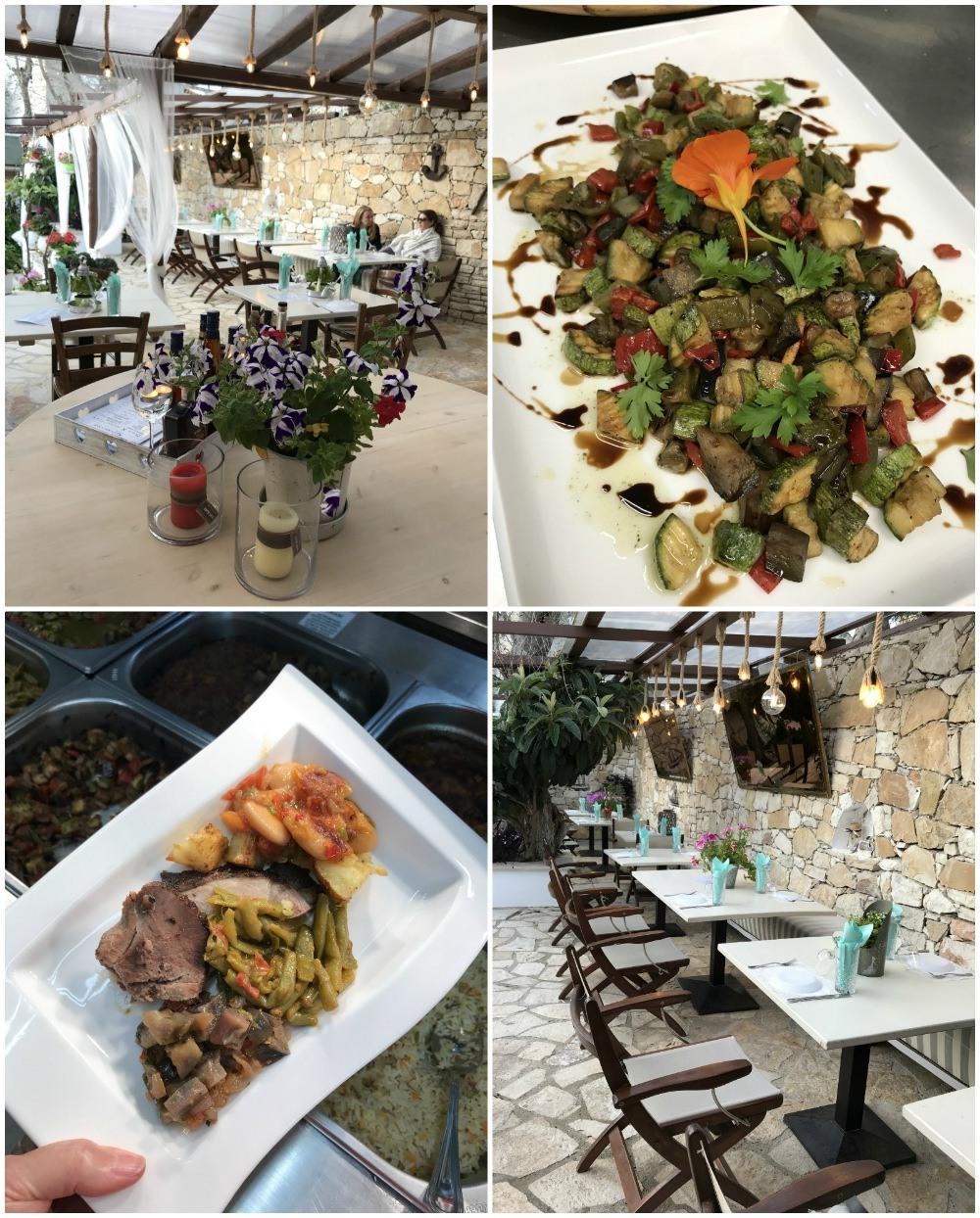 Carnayo Restaurant in Paxos Photo Heatheronhertravels.com