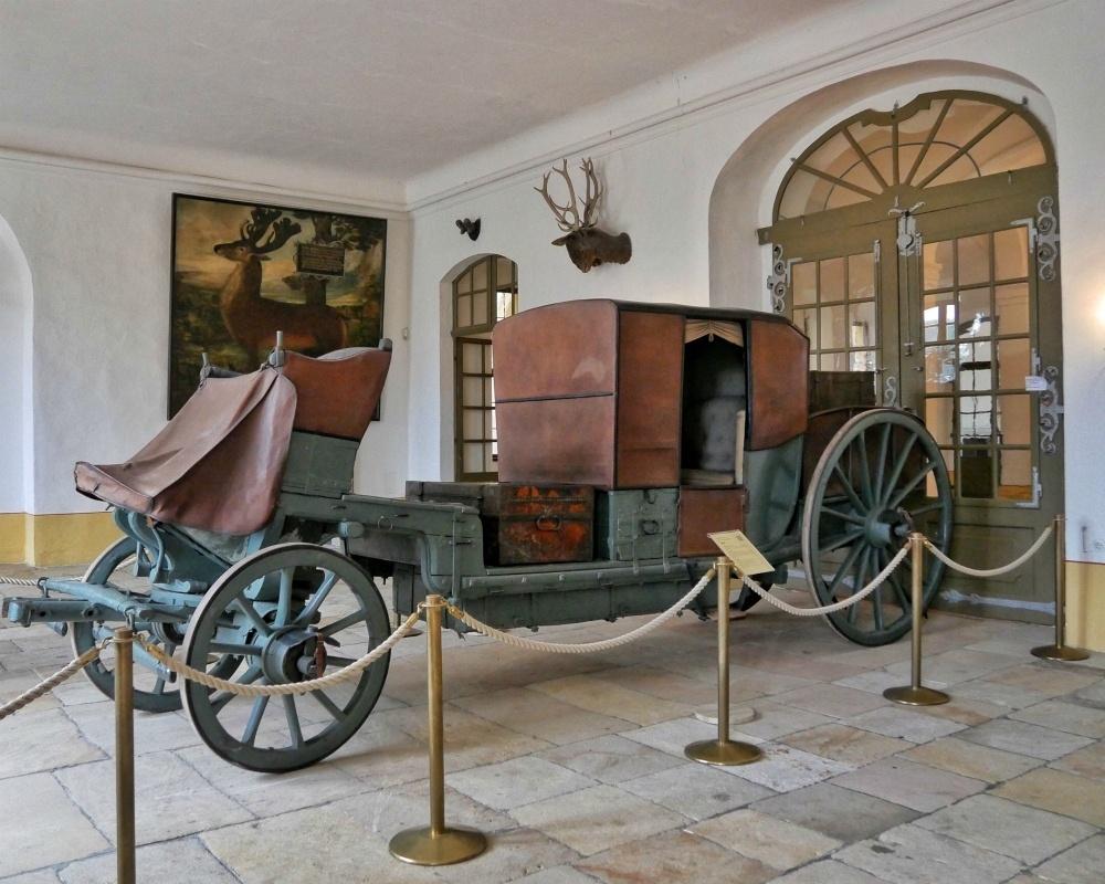 Carriage at Schloss Moritzburg near Dresden Germany Photo Heatheronhertravels.com