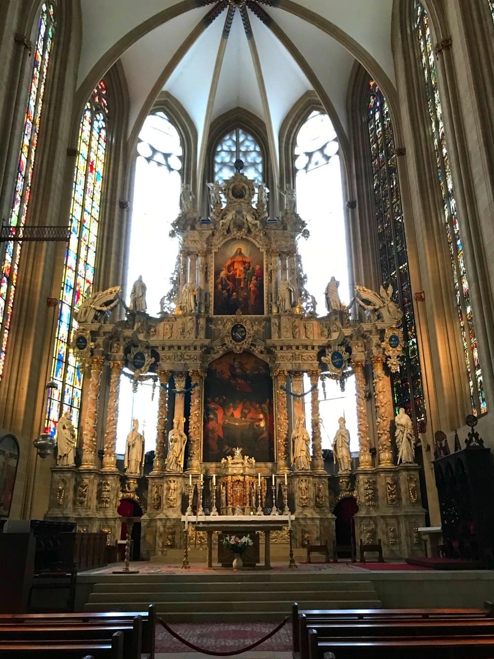 Cathedral in Erfurt Thuringia, Germany Photo Heatheronhertravels.com