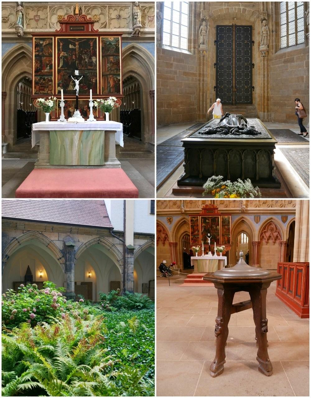 Cathedral interior in Meissen in Saxony, Germany Photo Heatheronhertravels.com