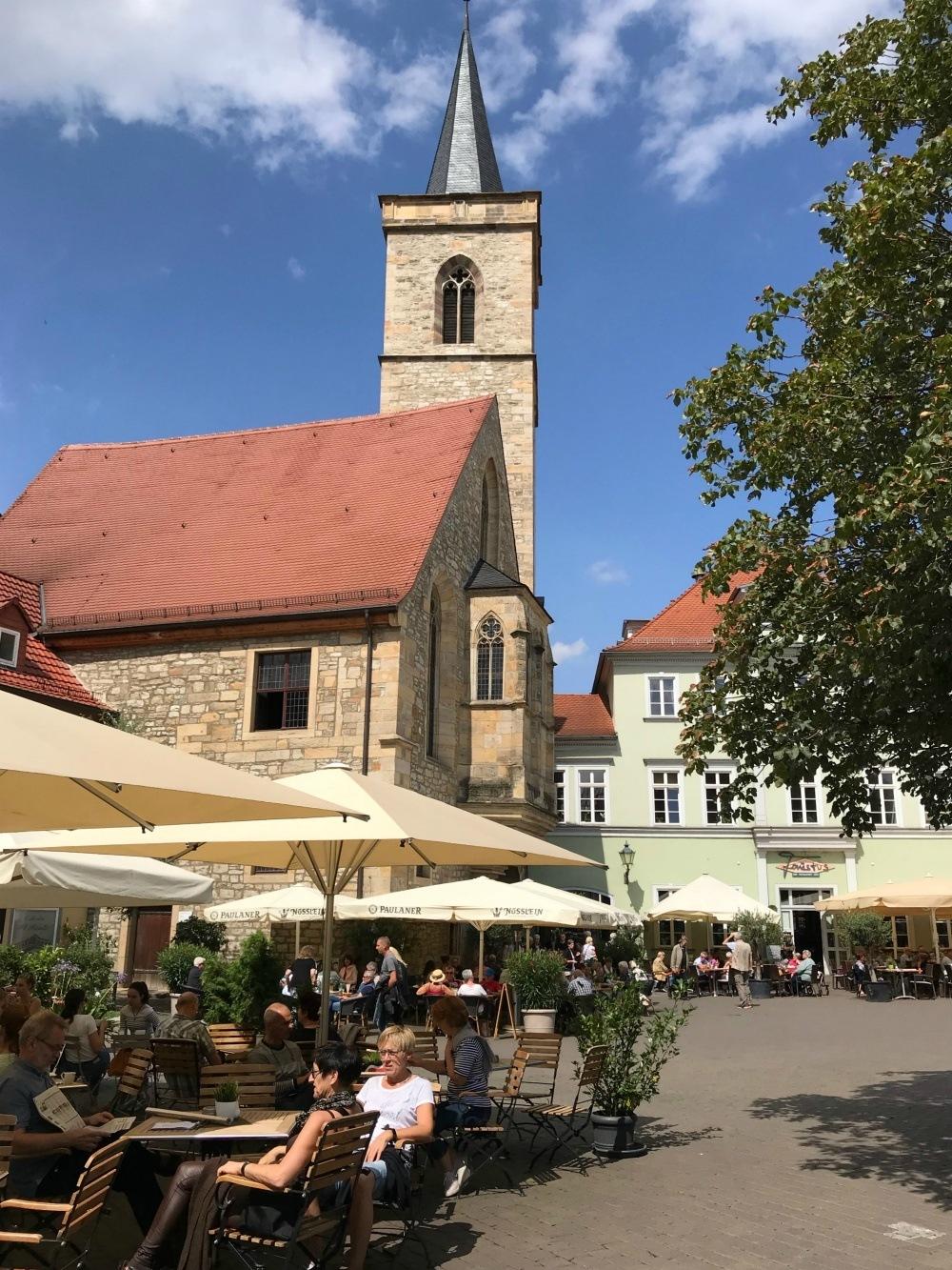 Church Tower in Erfurt, Thuringia, Germany Photo Heatheronhertravels.com