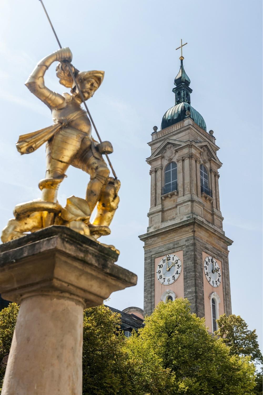 Eisenach Market Square in Thuringia, Germany Photo: Thuringia Tourism