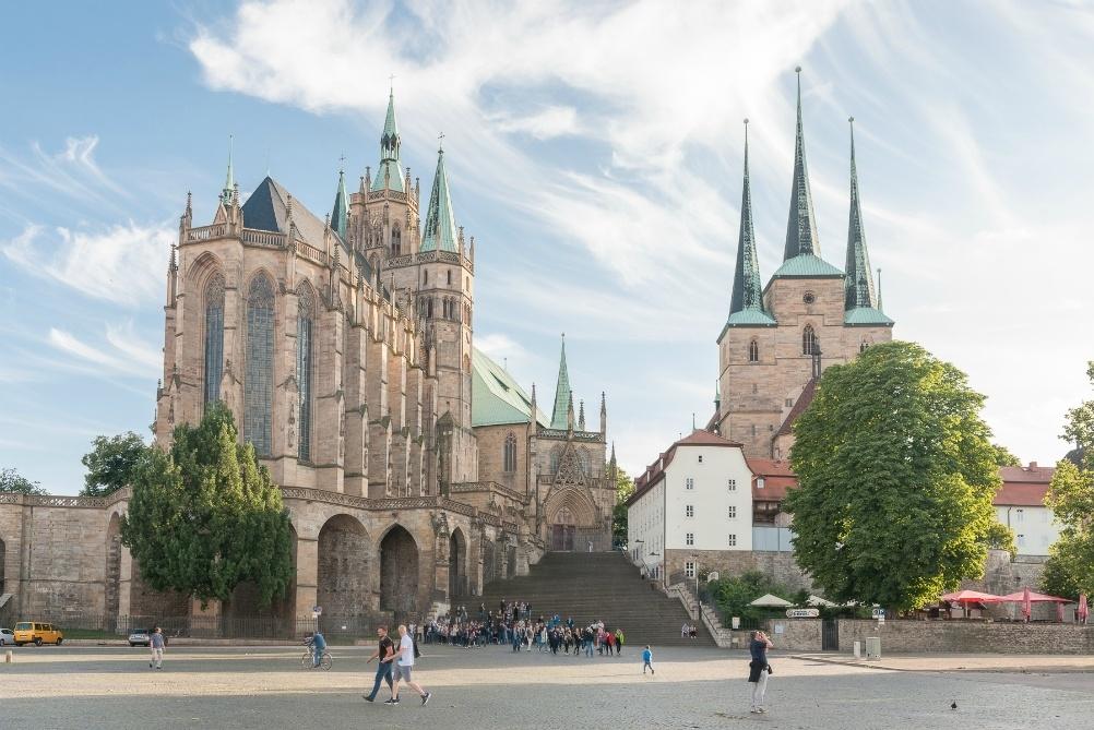 Erfurt Cathedral, Thuringia, Germany Photo Gregor Lengler
