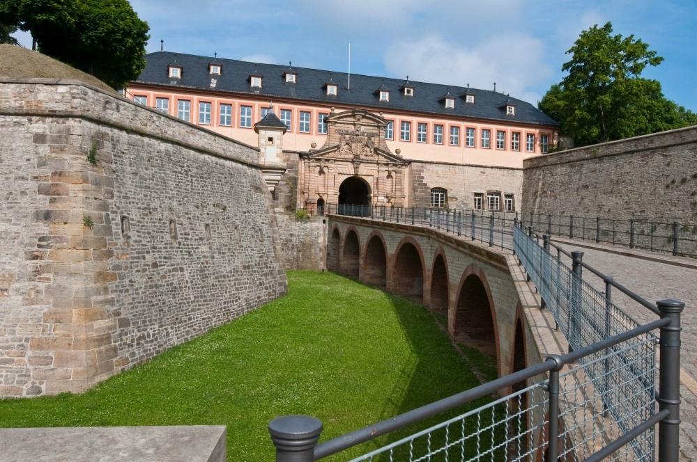 Petersberg Citadel in Erfurt, Thuringia, Germany Photo Toma Babovic