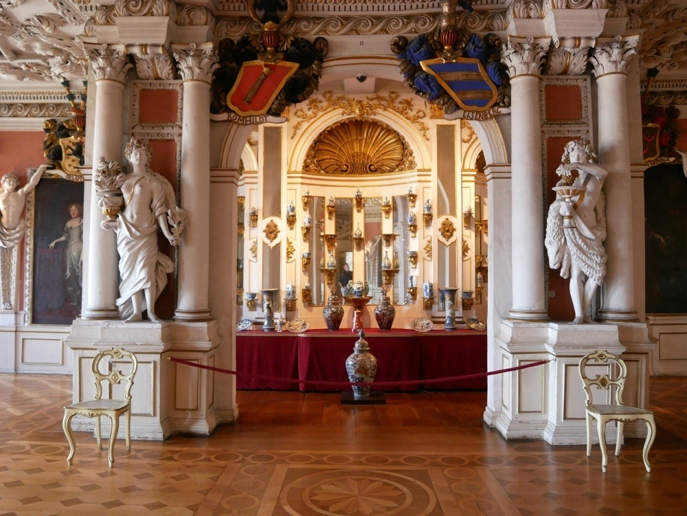 Grand Hall Friedenstein Palace in Gotha, Thuringia, Germany Photo Heatheronhertravels.com