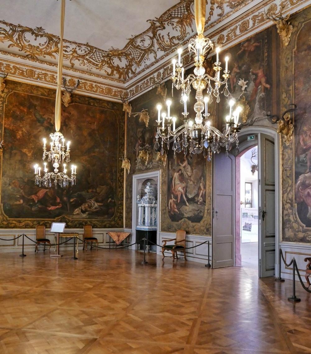Grand Hall at Schloss Moritzburg near Dresden Germany Photo Heatheronhertravels.com