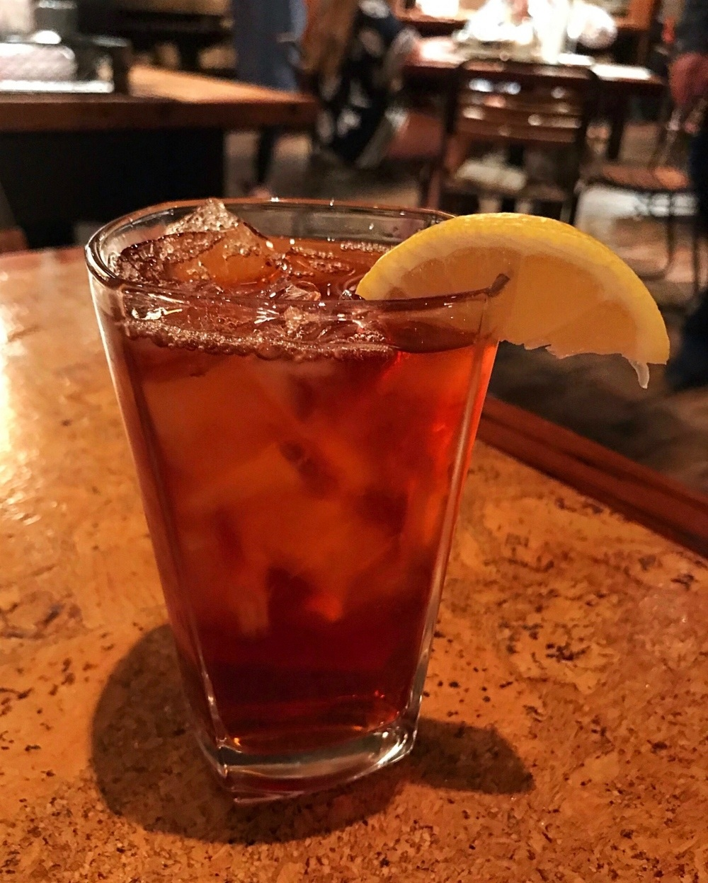 Ice tea at Central in Montgomery Alabama Photo Heatheronhertravels