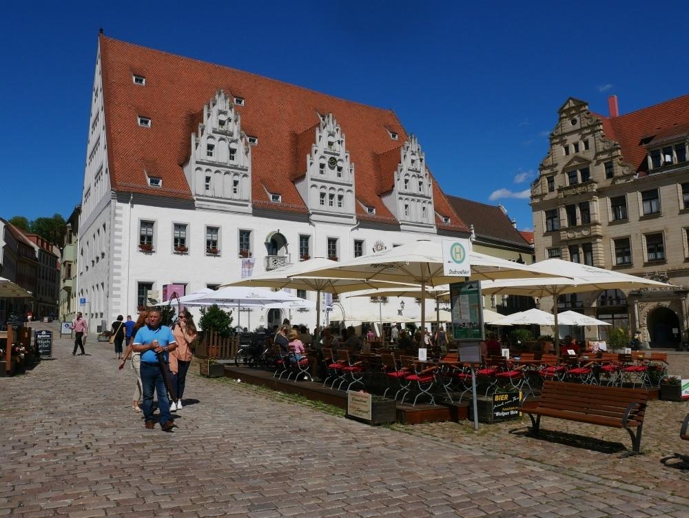 Main square in Meissen in Saxony, Germany Photo Heatheronhertravels.com