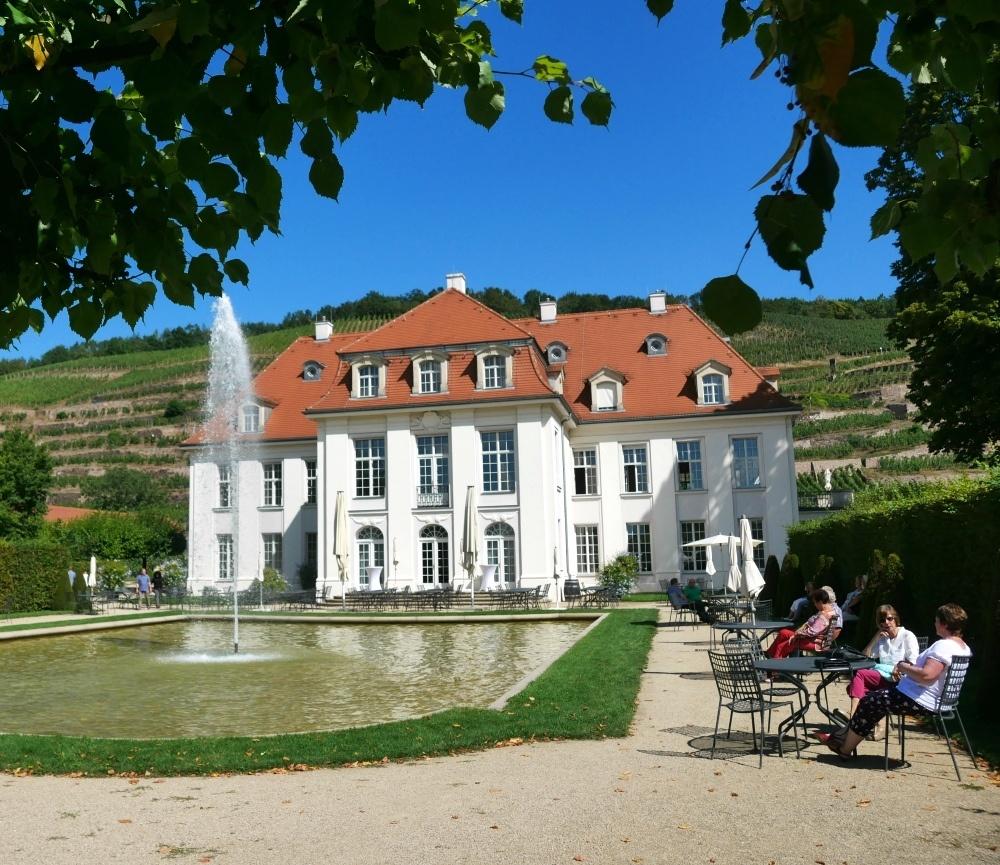 Manor house at Schloss Wackerbarth winery near Dresden, Saxony, Germany Photo Heatheronhertravels.com