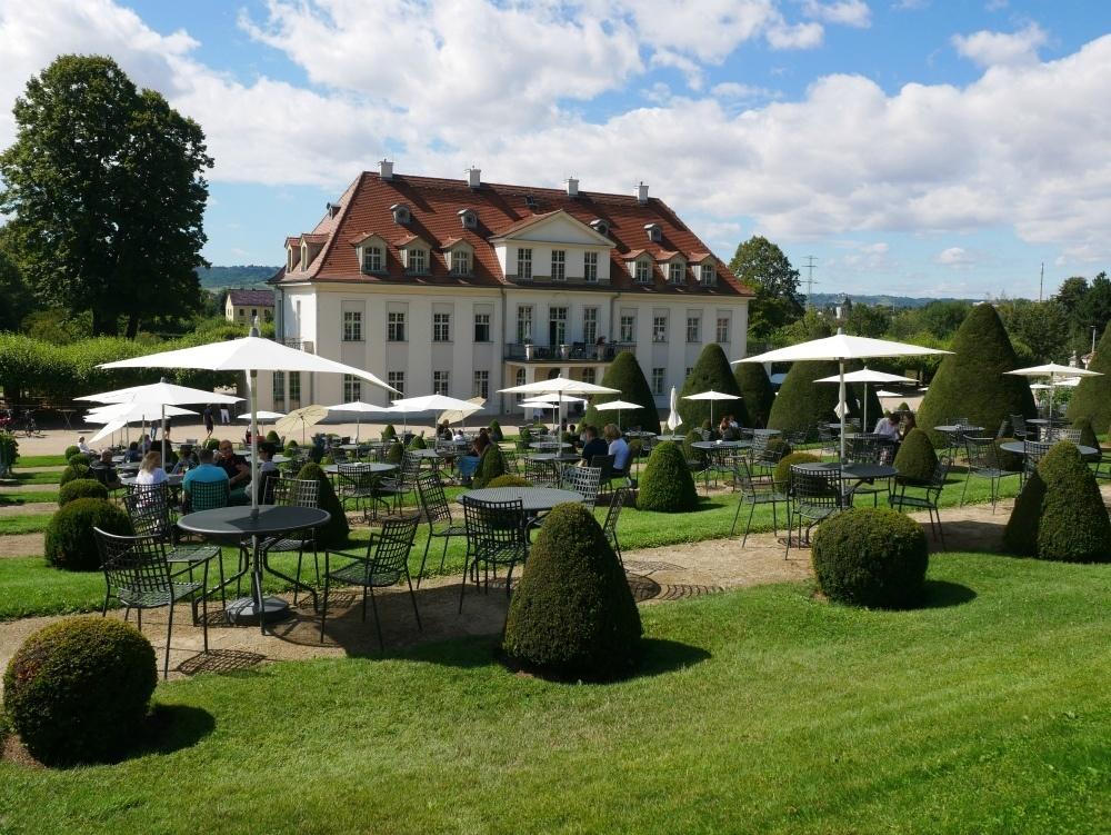 Manor of Schloss Wackerbarth winery near Dresden, Saxony, Germany Photo Heatheronhertravels.com