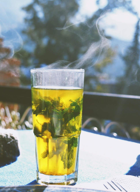 Moroccan mint tea Photo: moroccanzest
