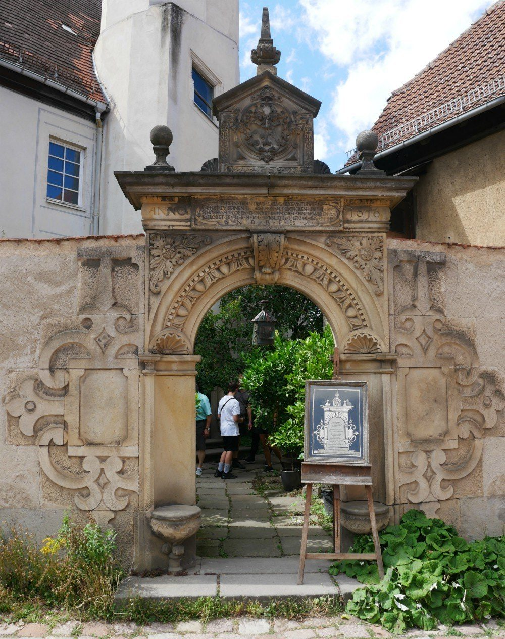 Old gateway in Meissen in Saxony, Germany Photo Heatheronhertravels.com