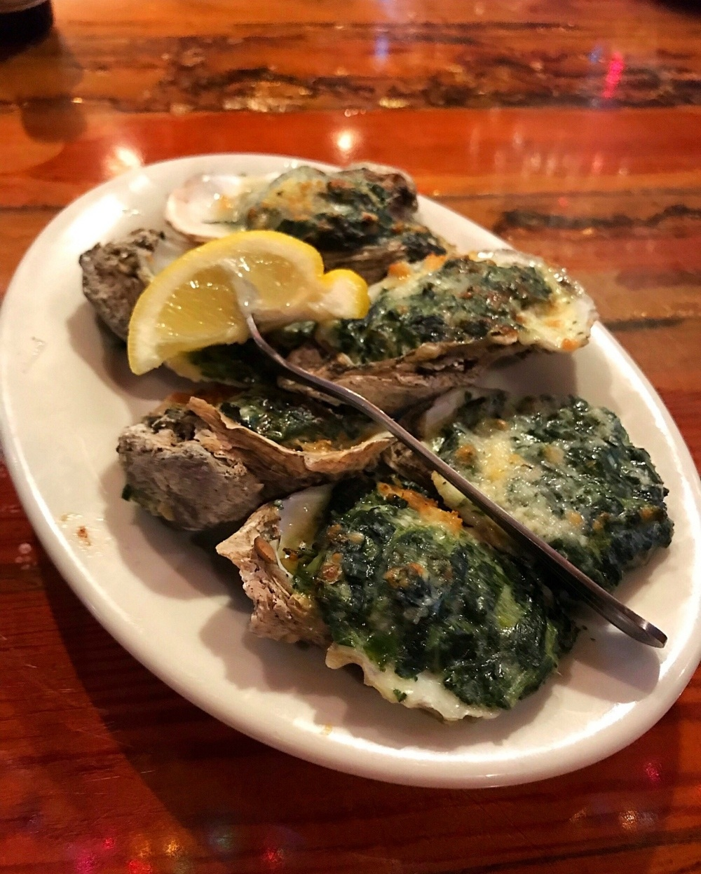 Oysters at Wintzell's Oyster House Photo Heatheronhertravels
