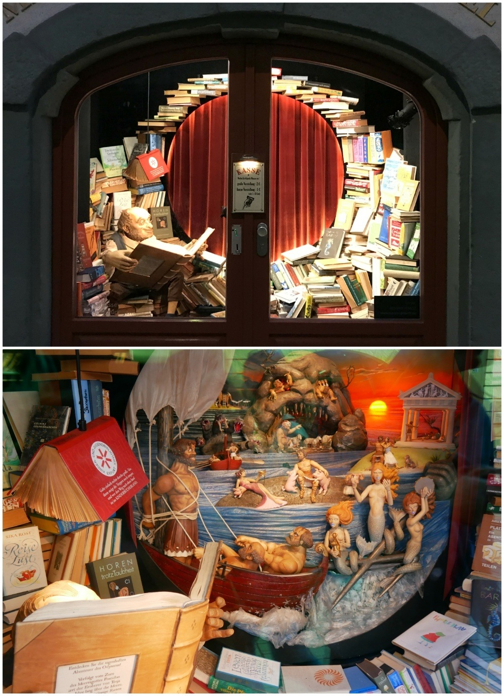 Puppet show in Erfurt, Thuringia, Germany