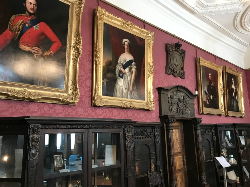 Royal Portraits in Friedenstein Palace in Gotha, Thuringia, Germany Photo Heatheronhertravels.com