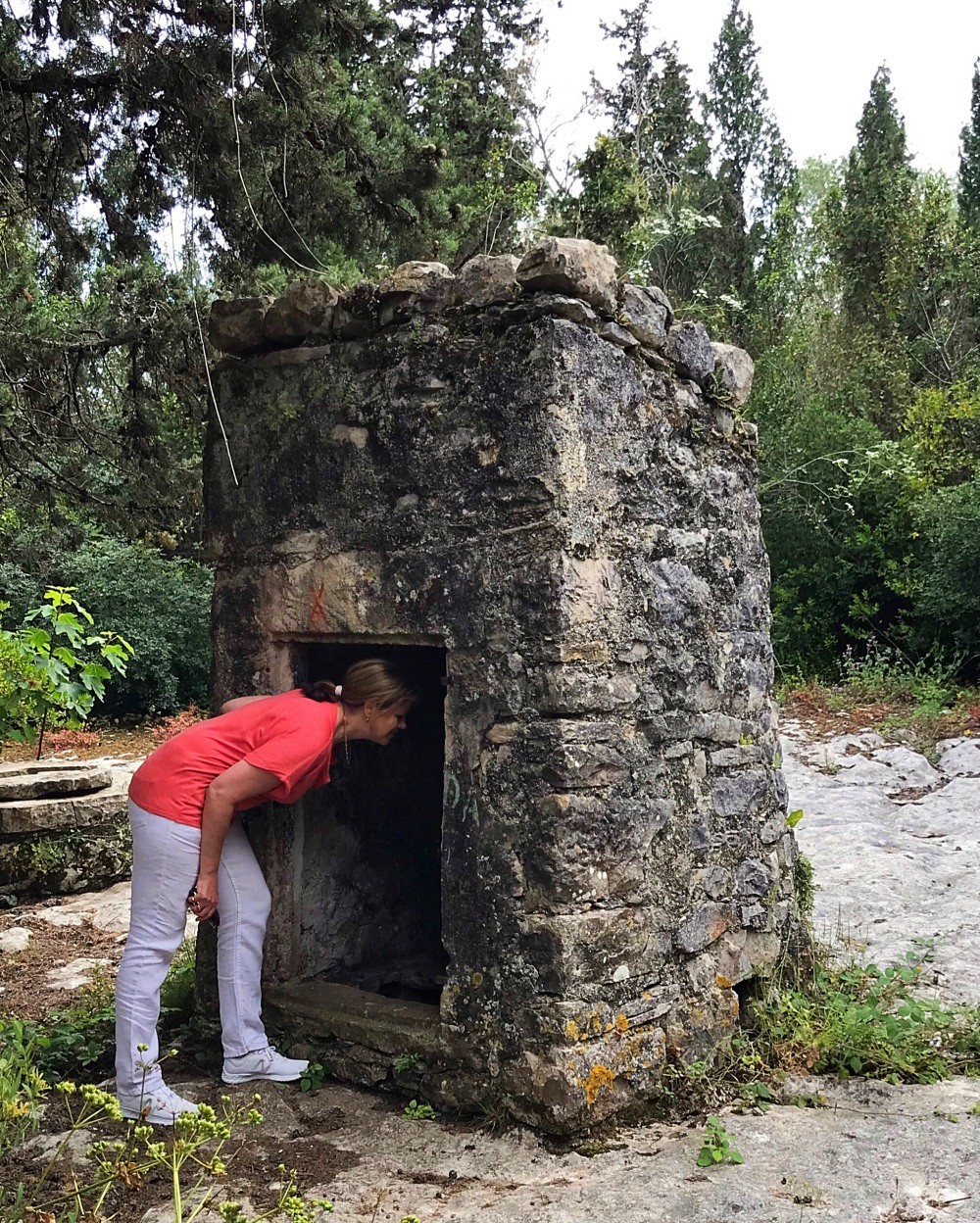 Sarakinos cisterns Paxos Photo Heatheronhertravels