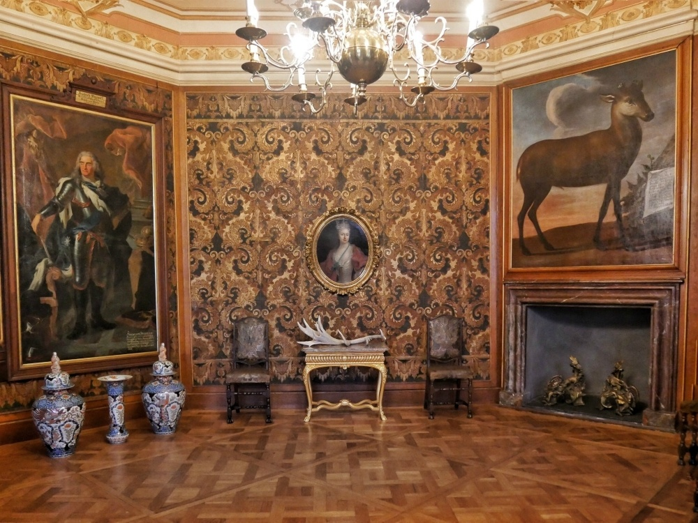 State rooms in Schloss Moritzburg near Dresden Germany Photo Heatheronhertravels.com