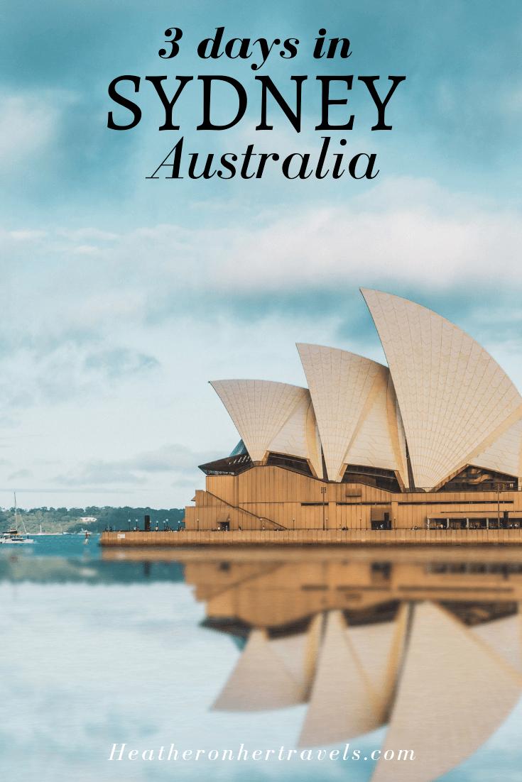 3 days in Sydney, Australia