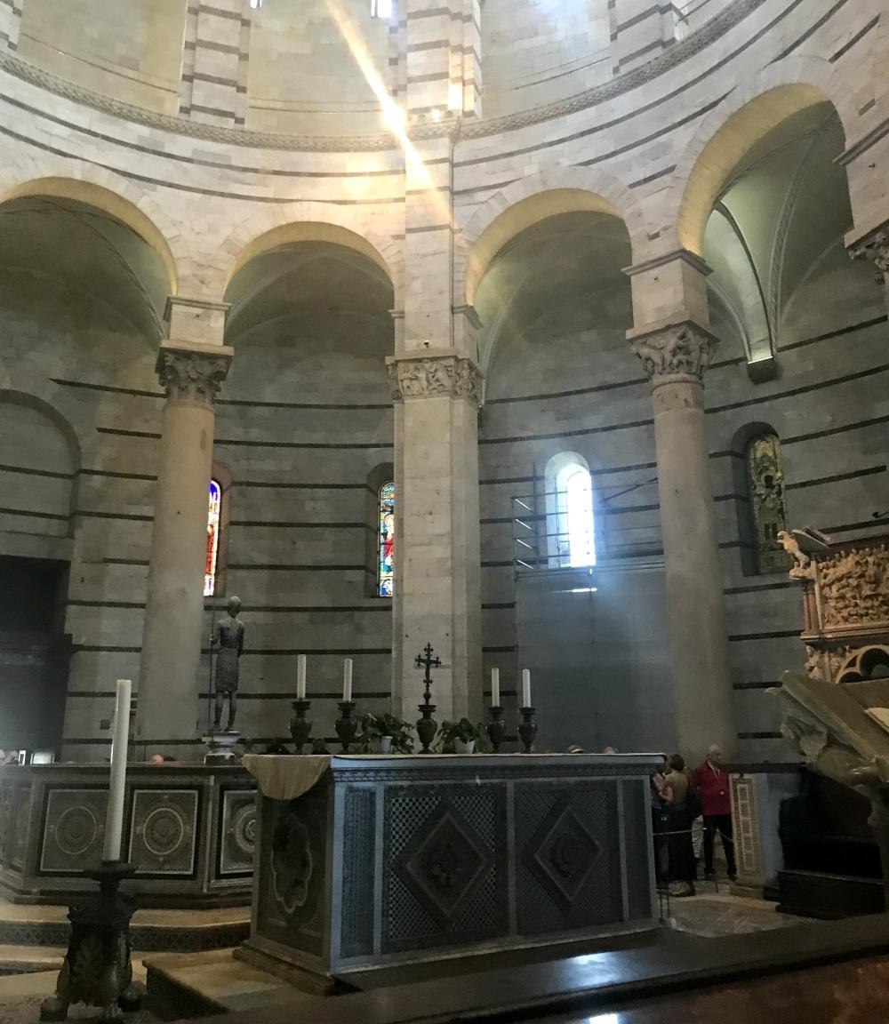 The Baptistery in Pisa Photo Heatheronhertravels.com