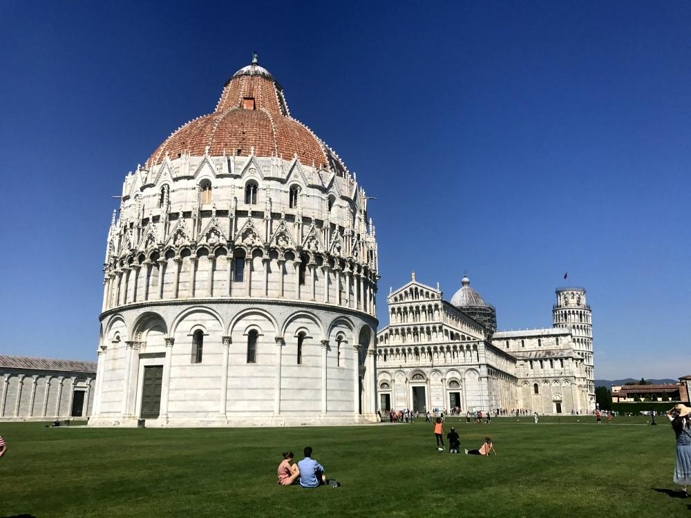 The Baptistery in Pisa Photo Heatheronhertravels