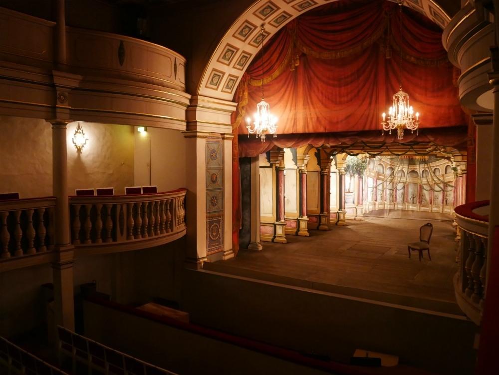 Theatre at Friedenstein Palace in Gotha, Thuringia, Germany Photo Heatheronhertravels.com