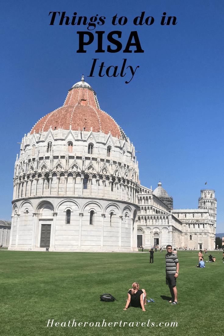 Things to do Pisa Italy