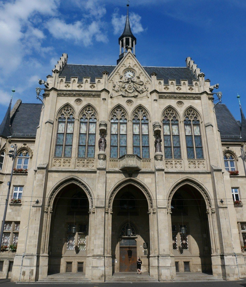 Town Hall in Erfurt, Thuringia, Germany Photo Heatheronhertravels.com