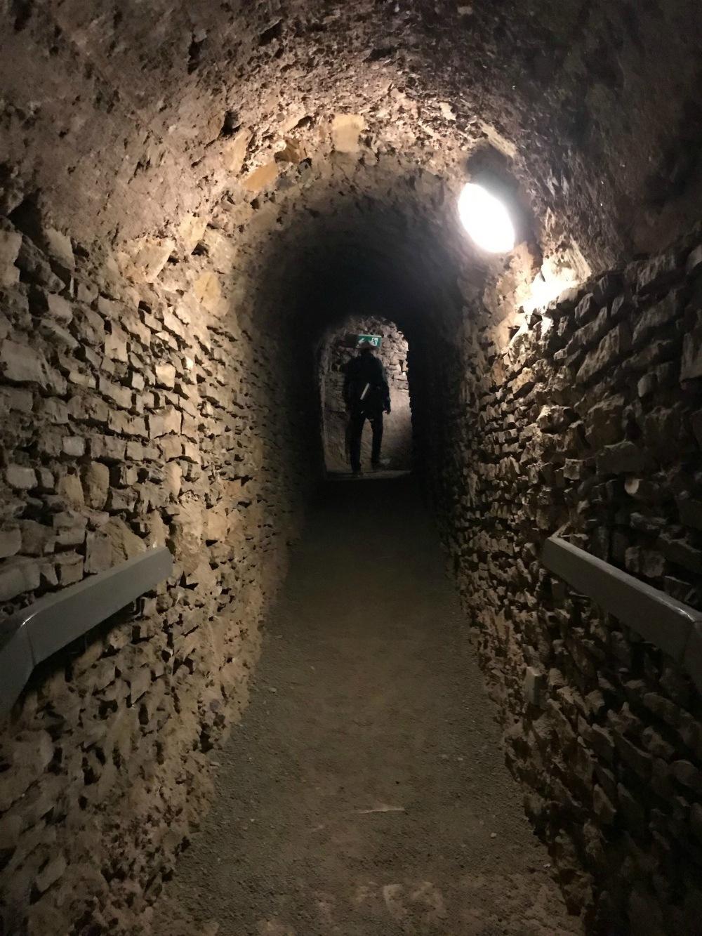 Tunnels under the Petersburg Citadel in Erfurt Photo Heatheronhertravels.com