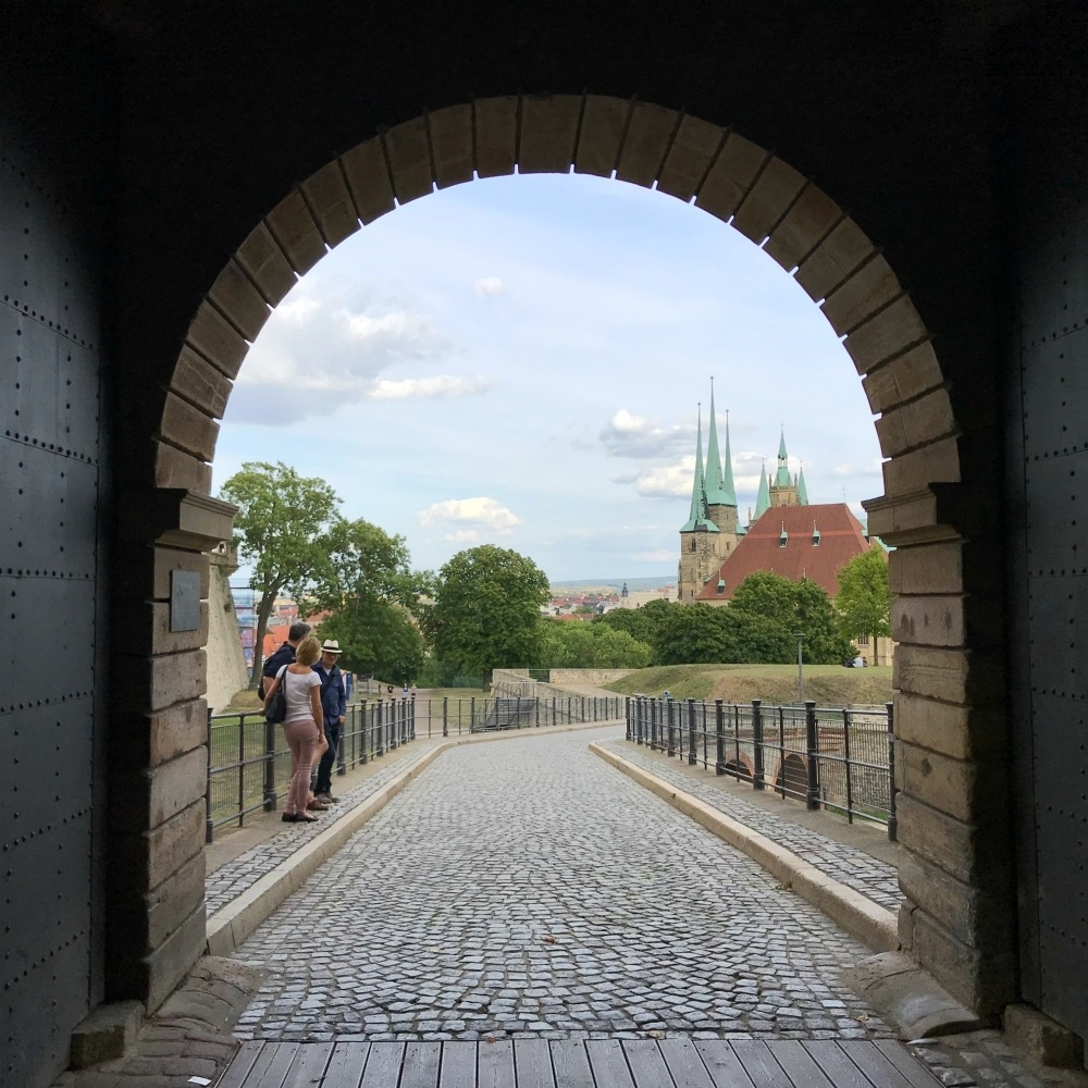 View from Petersburg Citadel in Erfurt Photo Heatheronhertravels.com