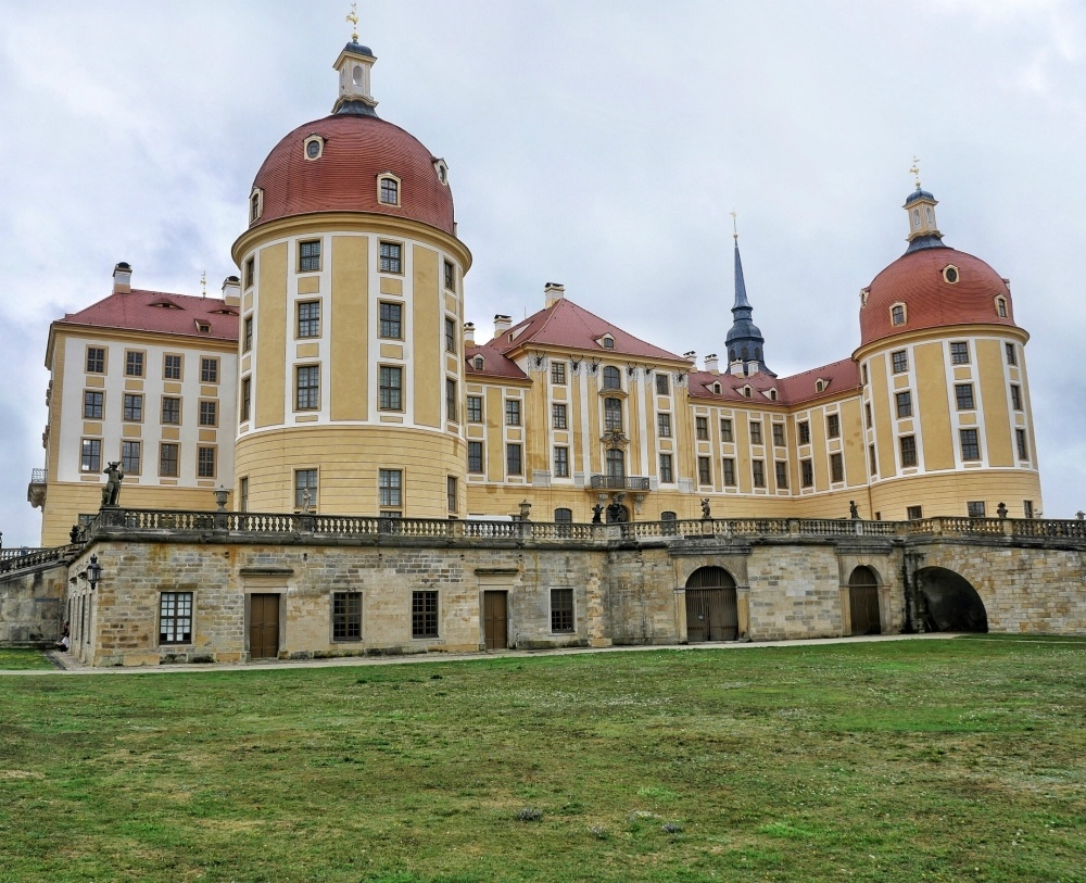 View of Schloss Moritzburg near Dresden Germany Photo Heatheronhertravels.com