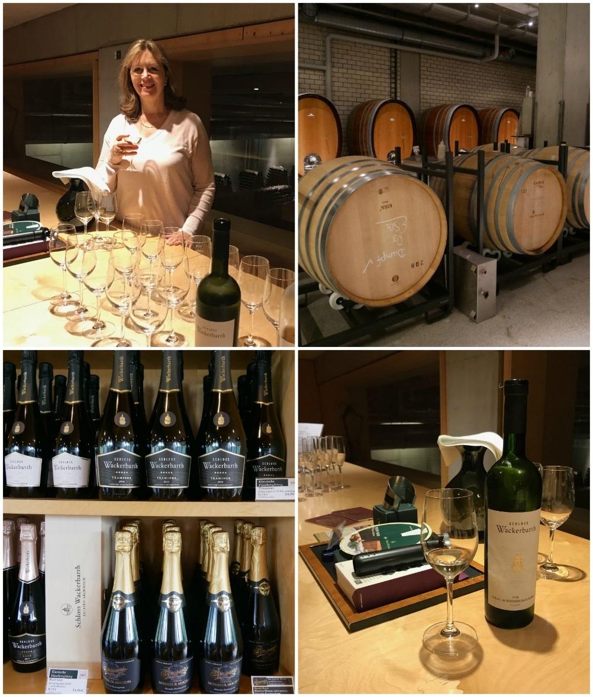 Wine tasting at Schloss Wackerbarth winery near Dresden, Saxony, Germany Photo Heatheronhertravels.com