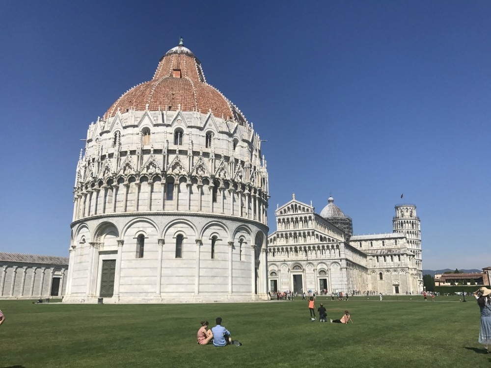 Baptistery in Pisa Photo Heatheronhertravels.com