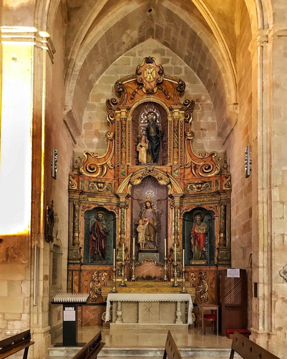 Cathedral chapel in Ciutadella Menorca Spain Photo Heatheronhertravels.com