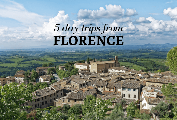 5 Easy day trips from Florence, Italy