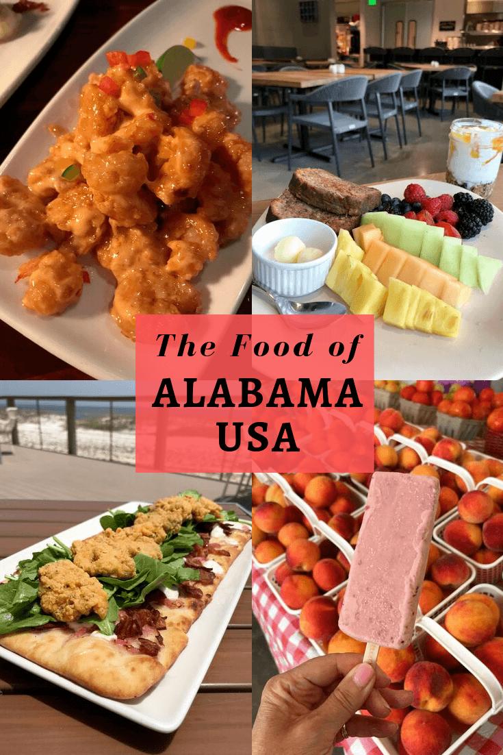 The Food of Alabama USA