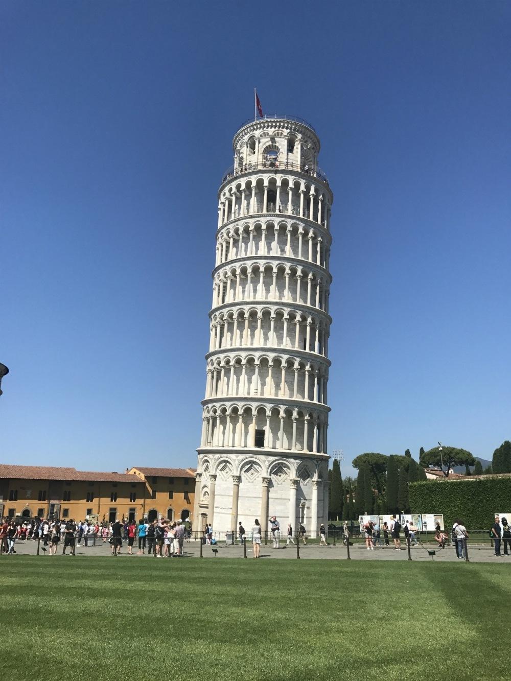 Leaning tower of Pisa Photo Heatheronhertravels.com