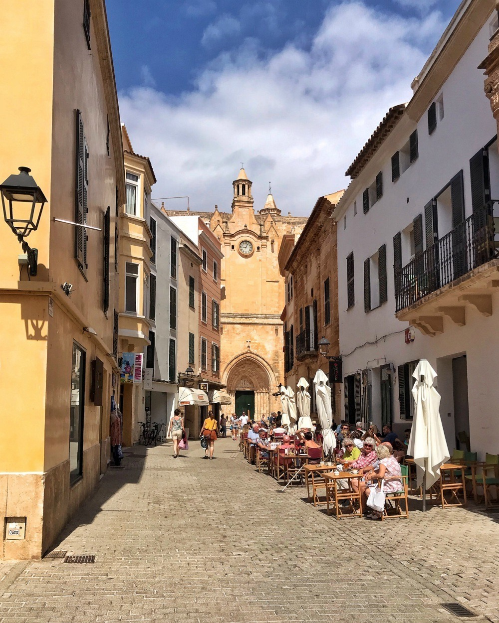 Old Streets in Ciutadella Menorca Spain Photo Heatheronhertravels.com